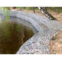 Укрепление берега водоемов габионами, габионными матрацами