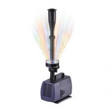 Насос с фонтаном и подсветкой AquaFall LED-10000FP 6500l/h 100W