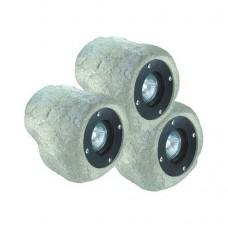 Светильники для пруда в виде камня AquaFall CQD-235C 60W галоген 3x20 W