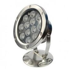 Светильник для пруда в металлическом корпусе AquaFall QL-26-1W12W LED белый