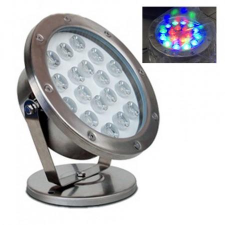 Светильник для пруда в металлическом корпусе AquaFall QL-48C LED RGB