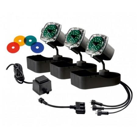 Подводные светильники Sicce Nathur LED TRIO, 3,5 Вт, 3шт