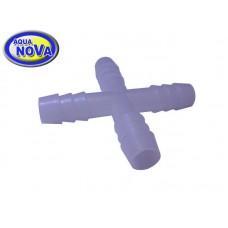Крестовина для шланга 8мм, пластик ANPP-4