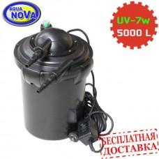 Напорный фильтр AquaNova NPF-10 с УФ-лампой