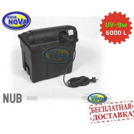 Проточный фильтр для пруда AquaNova NUB-6000 UVC9