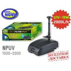 Погружной фильтр для пруда AquaNova NPUV-2000 + УФ-лампа 9Вт