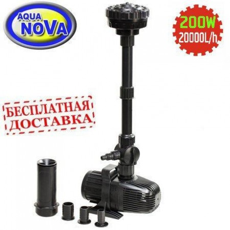 Насос для пруда AquaNova NCM-20000 л/час Fountain