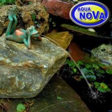 Садовая фигурка фонтан АкваНова Лежащая лягушка