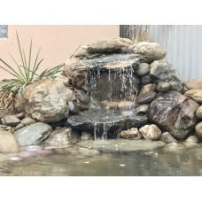 Декоративные водопады любых размеров, изливы, водные каскады