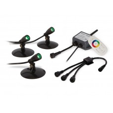 Компактные светодиодные прожектора SOLCC2X3, 3шт, 3-7.5 Ватт