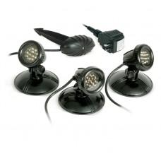 Комплект из 3-х светодиодных прудовых светильников с разъемом для быстрого подключения AWGLED3, 4.8 Ватт
