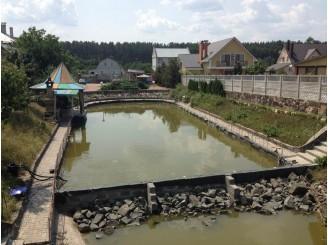Изоляция технического водоема бутилкаучуком с. Свидивок