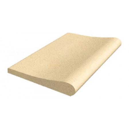 Камень копинговый прямой 500х330 мм серия Sahara (песочный цвет)