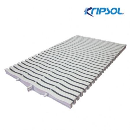 Бортовая решетка Kripsol, Straight 20 , ширина 295 мм, высота 20 мм