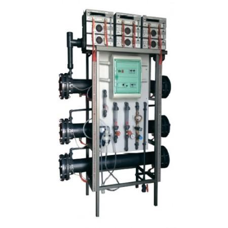 Компактная электролизная установка КЭУ-1600, 1600 г хлора в час