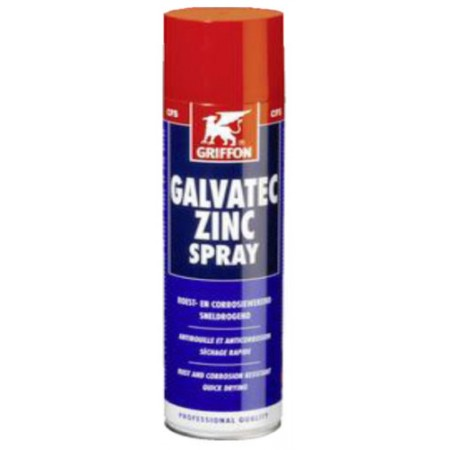 Аэрозоль цинковый (GALVATEK ZINKSREY- катодная защита металлов), 400 мл