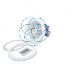 Гидромассажная форсунка вращ.-крестовая, наружный диаметр 195 мм