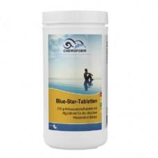 Blue Star (табл.200 г +100 г) 1 кг, 5 кг. Бесхлорное комплексное средство