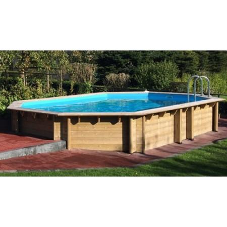 Деревянный бассейн BWT Weva +640