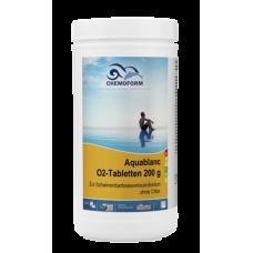 Aquablanc O2 Sauerstofftabletten (табл. 20 г) 1 кг, 3 кг. Бесхлорное дезинфицирующее средство, основанное на действии активного кислорода.