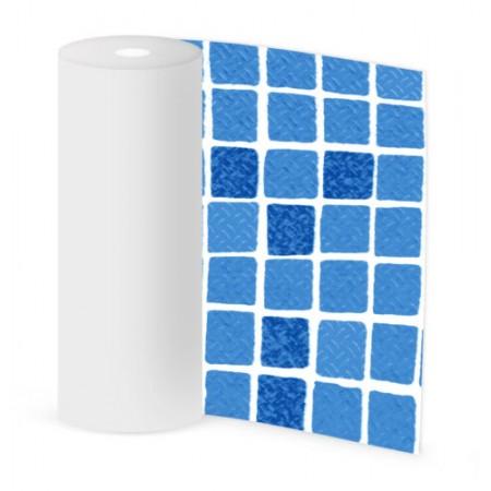 CLASSIC Non-Slip мозаика синяя / mosaic blue 165 cm, цвет 1123/01