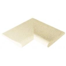 Камень копинговый угловой внутренний серия Sahara (песочный цвет)