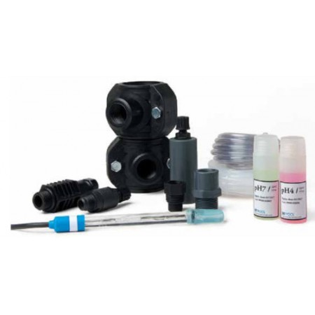 Комплект электрода pH с мембранным насосом для проточного электролизера