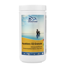 Aquablanc O2 Sauerstoffgranulat (гранулят) 1 кг, 3 кг, 5 кг. Бесхлорное дезинфицирующее средство, основанное на действии активного кислорода