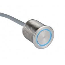 Пьезокнопка с подсветкой RGB, кабель 2,5м.