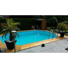 Деревянный бассейн BWT Tropic +640