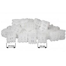 Бионаполнитель (биозагрузка) Helix Ø14 х 14 белый