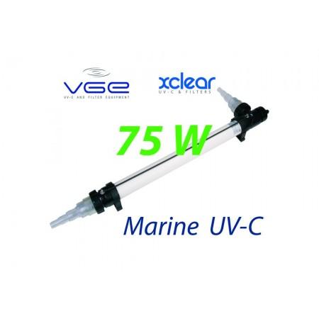 Комплект лампы UV-C XClear Marine 75W для морской и соленой воды