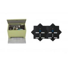 Cистема аэрации 4GL32 в коробе с 2-мя диффузорными коллекторами