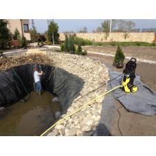 Сервисное обслуживание прудов, бассейнов, водоемов