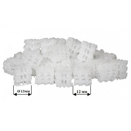 Бионаполнитель (биозагрузка) Helix Ø13х12 белый