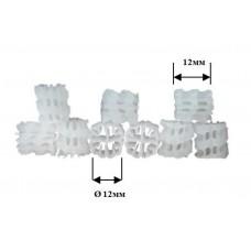 Бионаполнитель (биозагрузка) Helix Ø12х12 белый