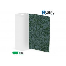 Плёнка ПВХ Exclusive Natural PEARL (Жемчужина), цвет: темно-зеленый (578), армированная, толщина 1.5мм, ширина 1.65м, длина рулона 25м