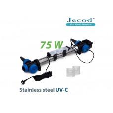УФ стерилизатор для пруда STU-75 в корпусе с нержавеющей стали