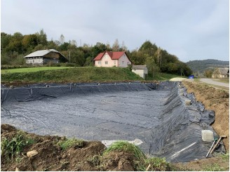 Изоляция резервуара для содержания рыбы Ресторанный комплекс г. Самбор