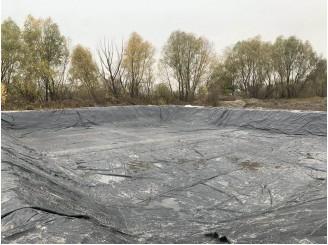 Создание и гидроизоляция водоема для полива растений г. Борисполь