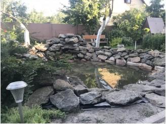 Садовый пруд для небольшого дачного участка с. Тарасовка
