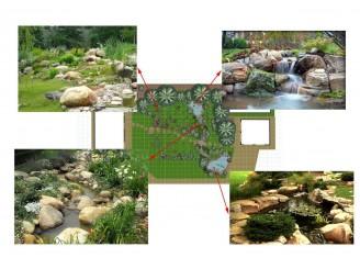 Эскизный проект водоема с ландшафтными работами и озеленением с. Барышевка