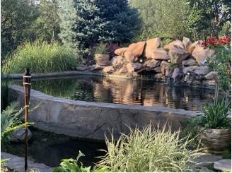 Реконструкция и преобразование плавательного водоема с рыбой с. Дедовица