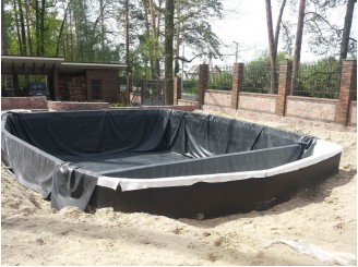 Гидроизоляция бетонной чаши плавательного водоема, монтаж оборудования г. Гостомель