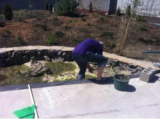 Сезонное обслуживание водоема, мойка, чистка чаши, подготовка к зиме г. Кривой Рог