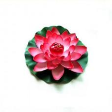 Плавающая декоративная лилия AquaFall диаметр 18 см красная