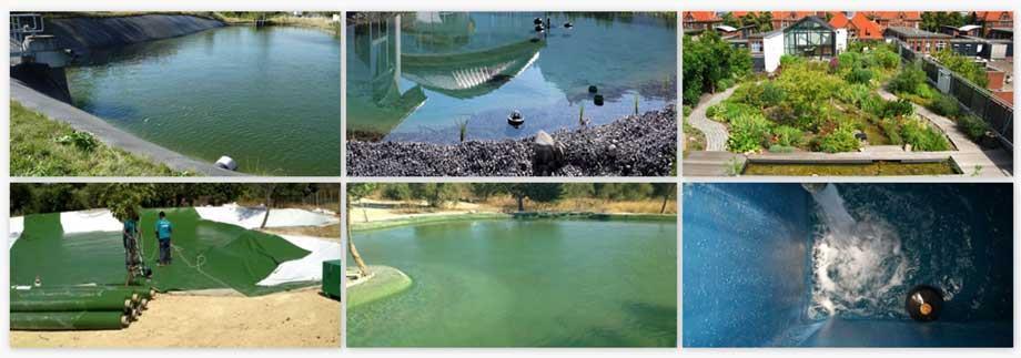 Пленка ПВХ для прудов и озер